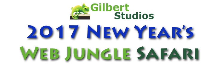 2017 New Year's Web Jungle Safari